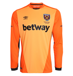 2016-2017 West Ham Home Goalkeeper Shirt