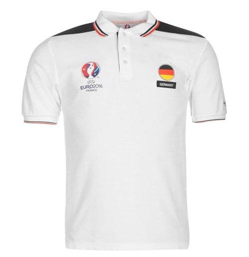 fd5a51b6840 Buy Official Germany UEFA Euro 2016 Polo Shirt (White)