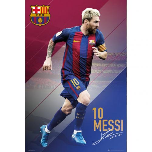 F.C. Barcelona Poster Messi 83