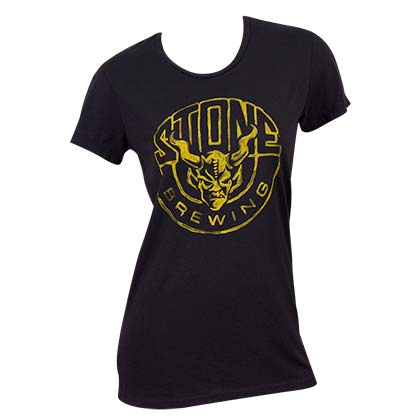 Stone Brewing Logo Women's Tee Shirt