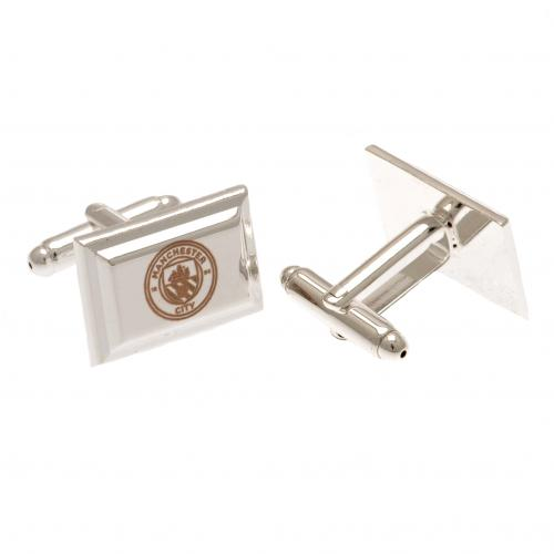 Manchester City F.C. Silver Plated Cufflinks