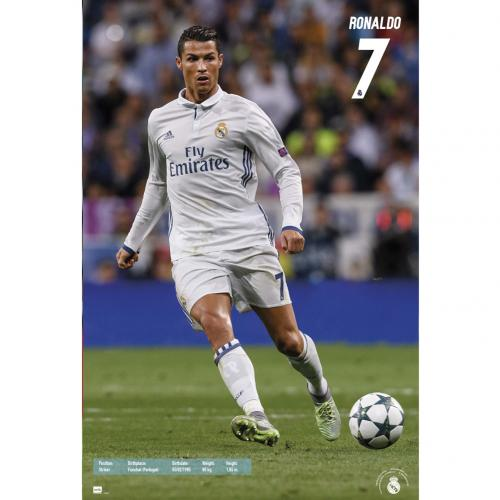 Real Madrid F.C. Poster Ronaldo 46