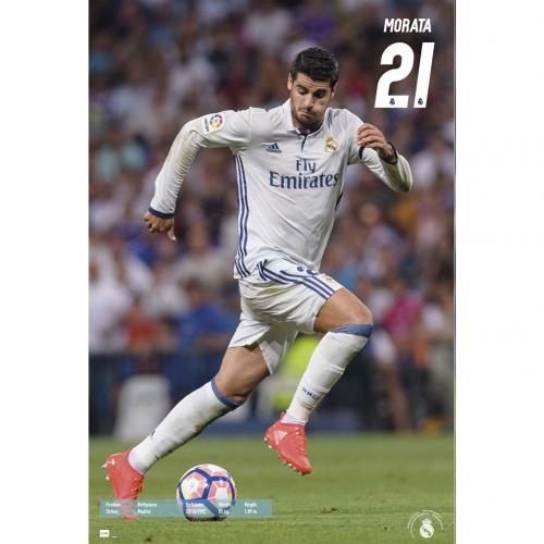 Real Madrid F.C. Poster Morata 55