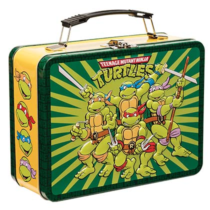 TMNT Heroes In A Half Shell Lunch Box