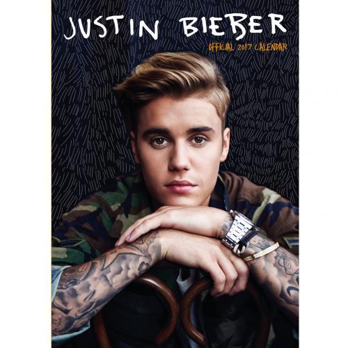 Justin Bieber Calendar 2017 for only £ 10.66 at MerchandisingPlaza UK
