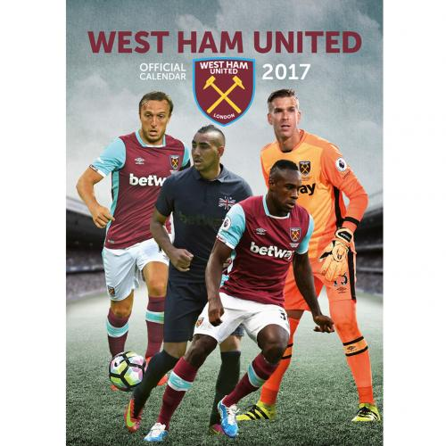 West Ham United F.C. Calendar 2017 for only £ 4.04 at ...