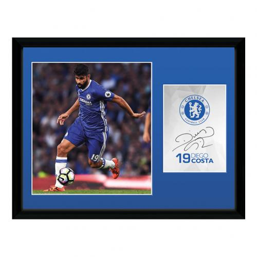 Chelsea F.C. Picture Diego Costa 16 x 12