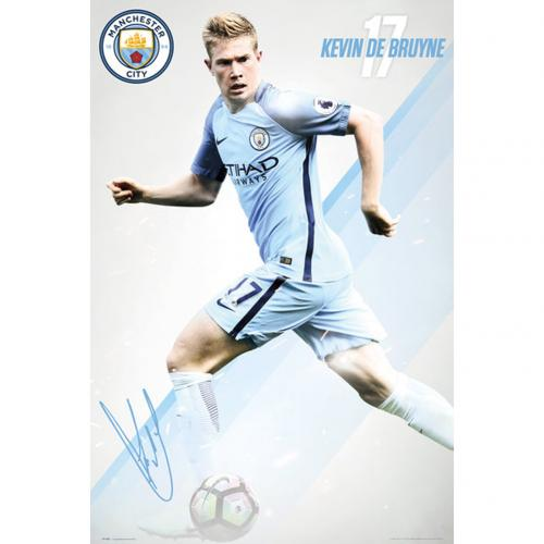 Manchester City F.C. Poster De Bruyne 10