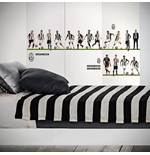 Juventus FC Wall Stickers 16 Players