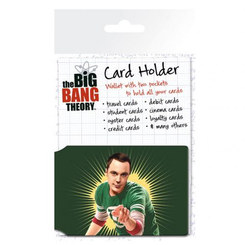 The Big Bang Theory Card Holder Bazinga