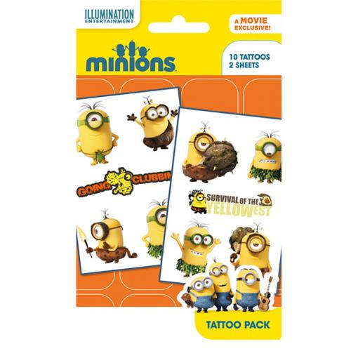 Minions Tattoo Pack YL