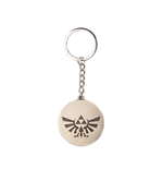 Nintendo - Zelda Triforce Logo Golden Coin Metal Keychain