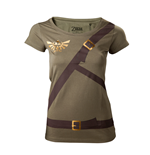 Zelda - Female Link's Shirt with Printed Straps