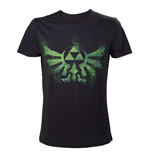 Zelda - T-shirt, Green Triforce Logo