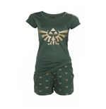 Zelda - Hyrule Nightwear Female, Golden Logo