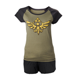 Zelda - Female Shortama with Wingcrest Logo