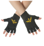 Zelda - Fingerless gloves with Wingcrests