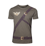 Zelda - Link's Shirt with Printed Straps