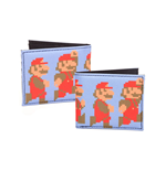 Nintendo - Running and Jumping Pixel Mario Wallet