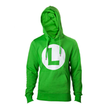 Nintendo - Green Hoodie with L logo in front