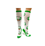 Nintendo - Green Mushroom Pattern Knee High
