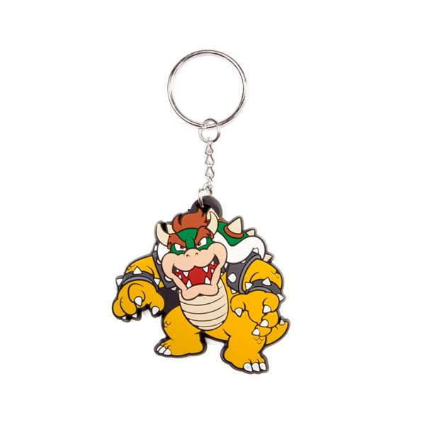 Official Nintendo Bowser Rubber Keychain Buy Online On