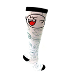 Nintendo - Printed Knee High Sock. Boo