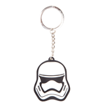 Star Wars - Stormtrooper Rubber Keychain 3D