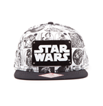 Star Wars - Comic Style Snapback with Metal Plate Logo
