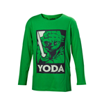 Star Wars - Yoda with Lightsaber Kids Shirt