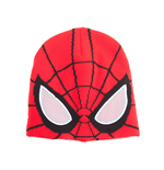 Spider-man - Knitted Beanie With See Through Mesh Eyes