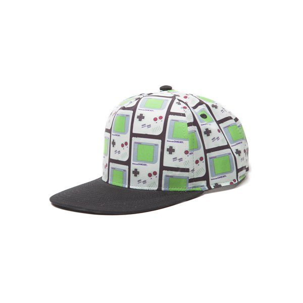 Nintendo - Gameboy Snapback With Allover Print