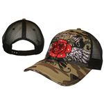 Miami Ink - Rose Trucker Cap