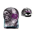 Miami Ink - Skull Logo Adjustable Cap