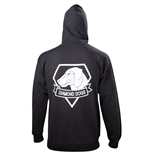 Metal Gear - Black Diamond Dogs Zipper Hoodie