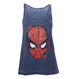 Marvel - Spiderman Head Paint Women Tanktop