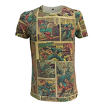 Marvel - Captain America 'cartoon' men t-shirt