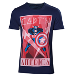 Marvel - Capt'n America men's T-shirt