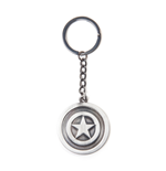 Marvel Comics - Captain America Shield Metal Keychain