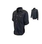 Jack Daniel's - Long Sleeve Workershirt