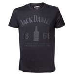 Jack Daniel's -Men T-shirt 1866 Black