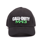 Call Of Duty - Black. MW 3 Adjustable Cap