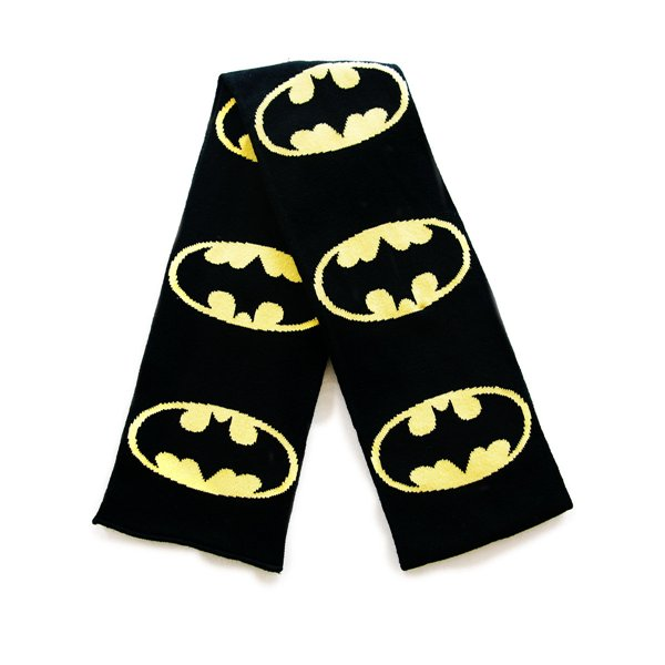 Knitting Pattern Batman Scarf : Batman - Knitted Scarf with Batman logos for only ? 18.40 ...