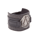 Assassin's Creed Syndicate - Wristband with metal patch, Grey