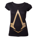 Assassin's Creed Syndicate - Female Gold Metallic Logo