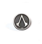 Assassin's Creed - Metal Round Pin with Logo