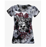 "Alchemy - T-shirt Mild ""Spider Rose"" Tie Dye"