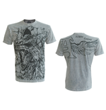 Wolf Scalp' - Perla/Grey. Stone T-shirt