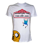 Adventure Time - T-shirt 'Finn and Jake'