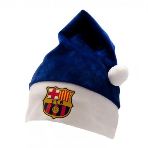 F.C. Barcelona Supersoft Santa Hat
